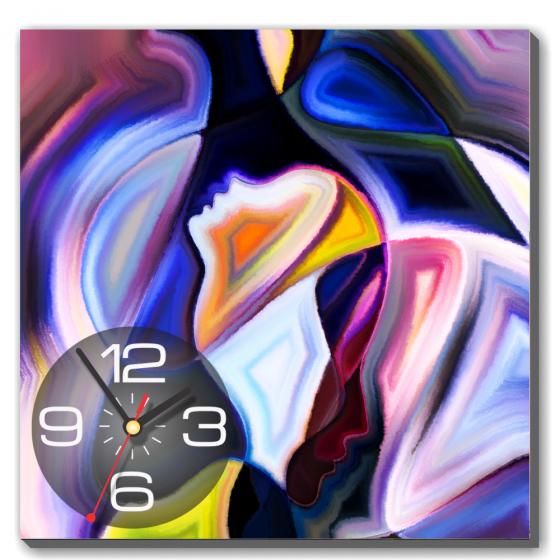Dyvina 1T4040-57 - Đồng hồ tranh Nghệ thuật sơn dầu 2