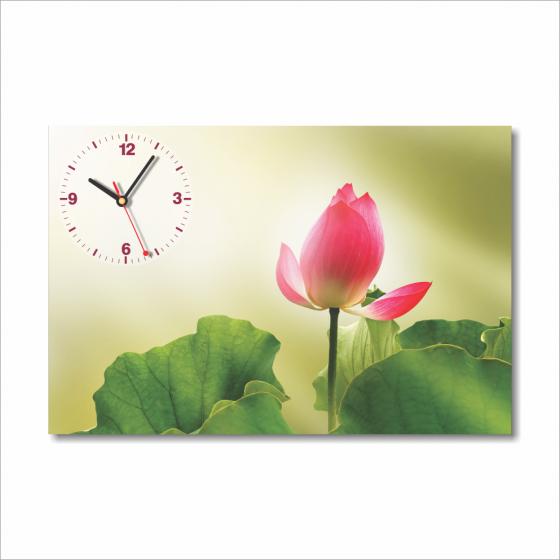 Dyvina 1T4060-8 - Đồng hồ tranh Hoa sen 3