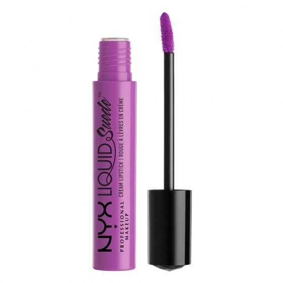 Son lì dạng kem NYX liquid suede cream lipstick LSCL06 Sway