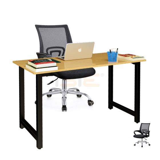 Bộ bàn Oak-T đen và ghế IB517 đen - IBIE