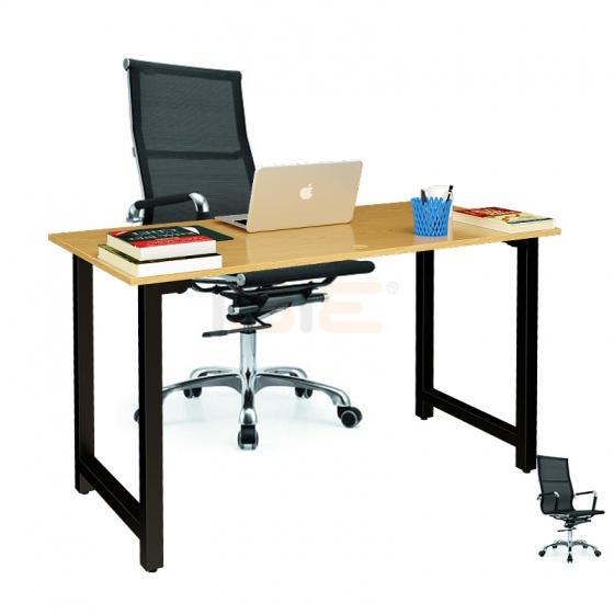 Bộ bàn Oak-T vân sồi gấp gọn và ghế IB16A - IBIE