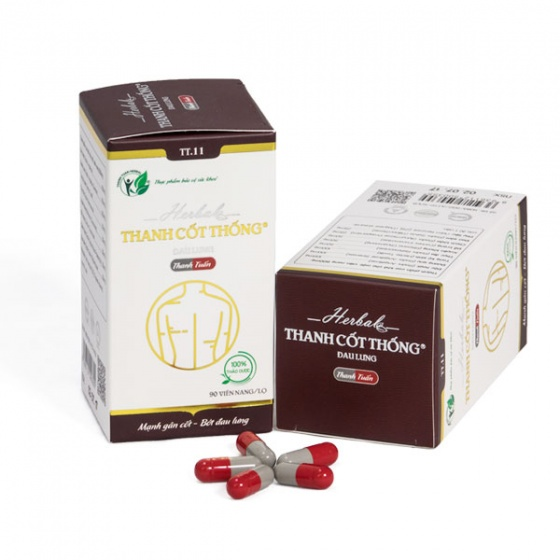 Combo 2 hộp điều trị đau lưng Thanh Cốt Thống