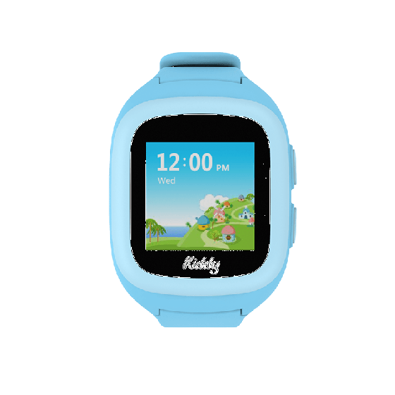Đồng hồ thông minh định vị trẻ em Kiddy 2 TOUCH 2018 (xanh) + tặng sim Kid30 + thẻ Viettel 50.000đ