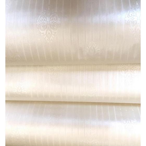 Combo 5m giấy decal cuộn màu kem cổ điển 2 DTL58