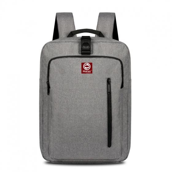 Ba lô laptop cao cấp HARAS màu xám HRS202