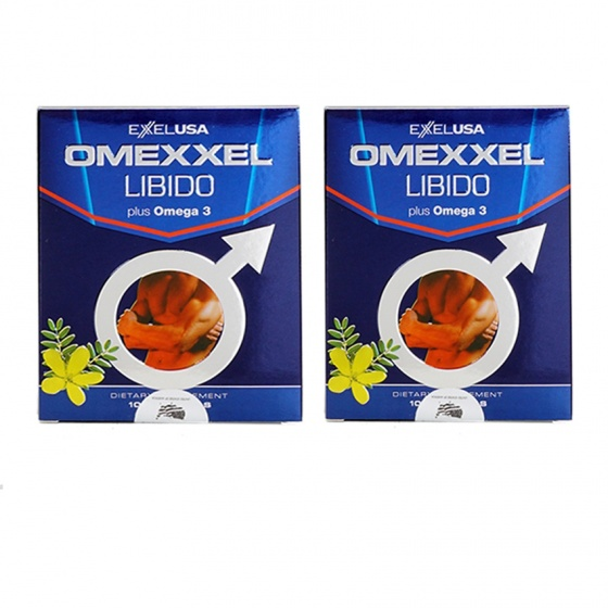 Combo 2 hộp viên uống tăng cường sinh lý và sức khỏe nam giới Omexxel Libido (20 viên) - chính hãng Mỹ