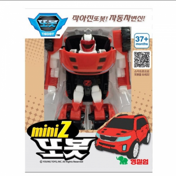 Đồ chơi lắp ráp mini Tobot Z 2018