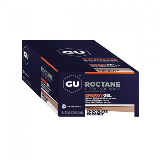 Gel uống bổ sung Gu Roctane Gel Chocolate Coconut hộp 24 gói