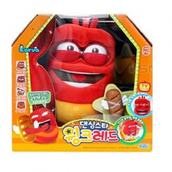 Đồ chơi Larva Dancing Star Wink Red