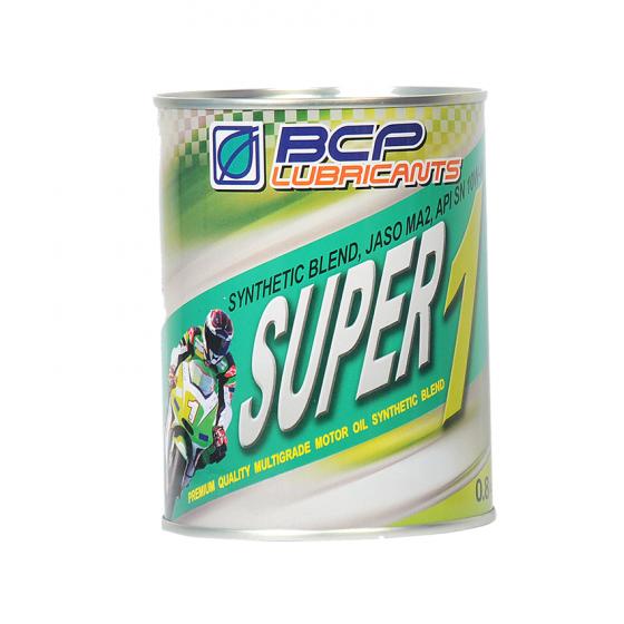 Nhớt bán tổng hợp cao cấp nhập khẩu Thái Lan -  BCP 10W40 SN 1L