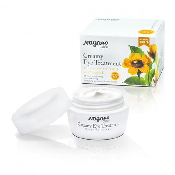 Kem trẻ hóa da vùng mắt với vitamin E Nagano
