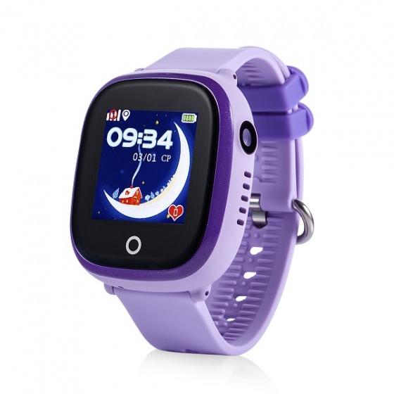 Đồng hồ định vị Wonlex GW400X (tím)