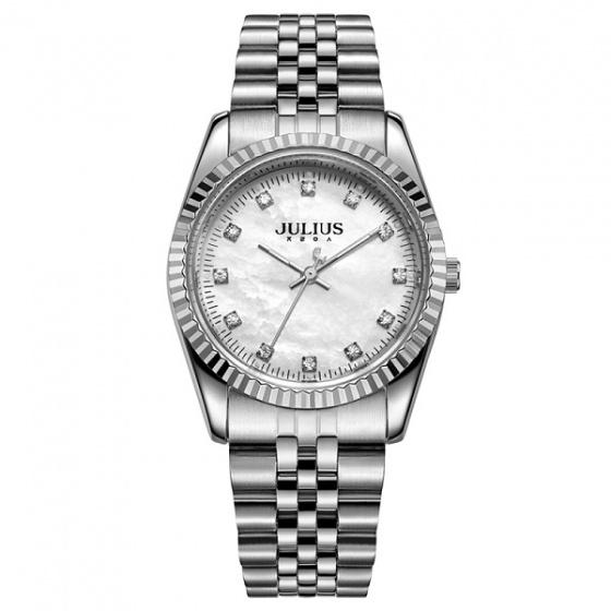 Đồng hồ nam Julius Hàn Quốc dây thép JA1069MA