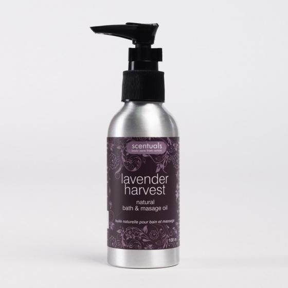 Dầu tắm và massage toàn thân hương Lavender Scentuals 100ml