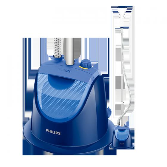 Bàn ủi hơi nước đứng Philips GC499 (Xanh) - Hàng nhập khẩu