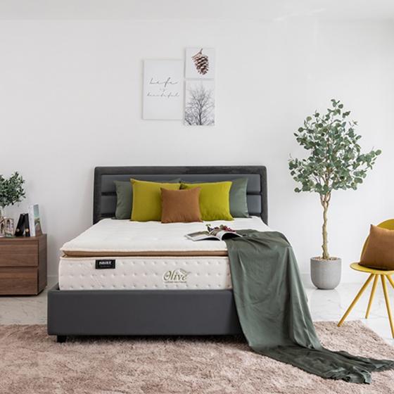 Nệm lò xo túi Olive Luxury Havas 200x200x36 cm