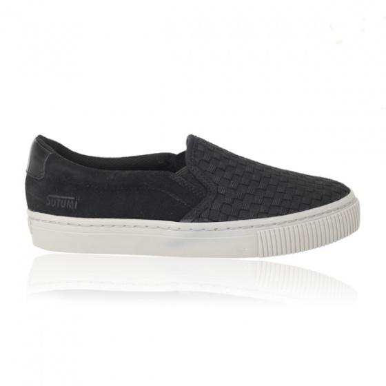 Giày lười nam Sutumi M158 - đen