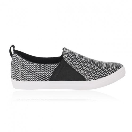 Giày lười nữ Sutumi F158 - Trắng