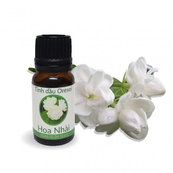 Tinh dầu hoa nhài hữu cơ 100% nguyên chất (10ml) - Tinh dầu hữu cơ Oresoi