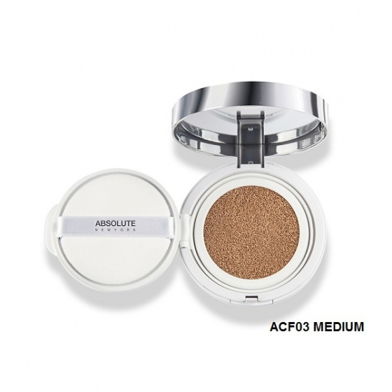 Phấn nước cushion Absolute New York HD Flawless Cushion Compact Foundation ACF 03.5 Medium