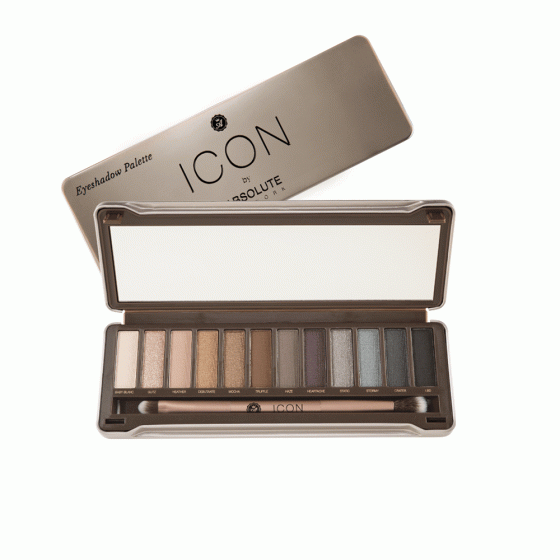 Bảng phấn mắt Icon EyeShadow Palette Aiep04 Smoked