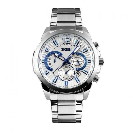 Đồng hồ nam chính hãng skmei NTS-097(Xanh trắng)