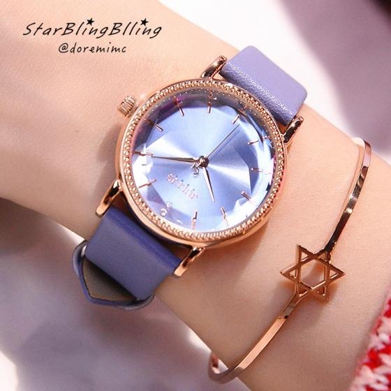 Đồng hồ nữ Julius Hàn Quốc dây da