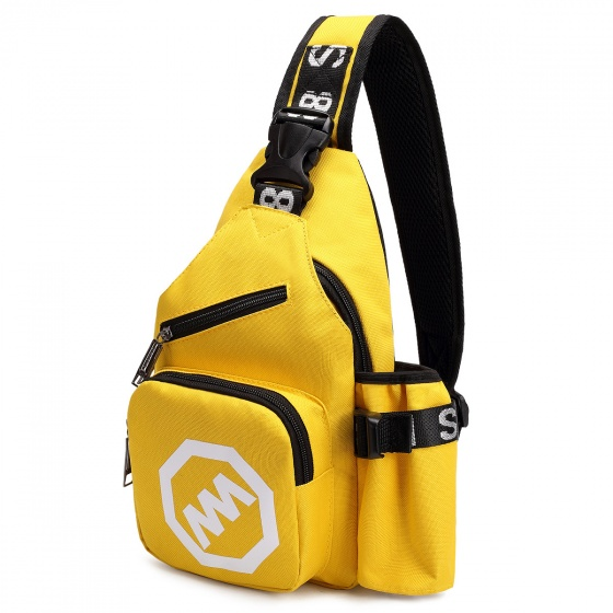 Túi đeo chéo cá tính thời trang Haras HR127( Vàng)