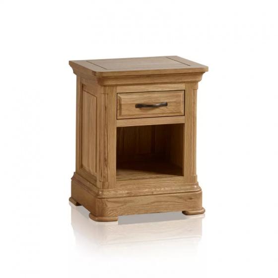 Tủ đầu giường 1 ngăn kéo Canterbury gỗ sồi - IBIE