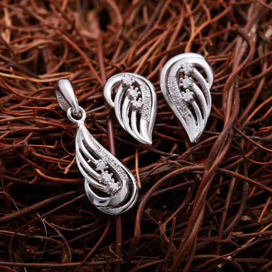 Bộ trang sức bạc Flame Of Angel