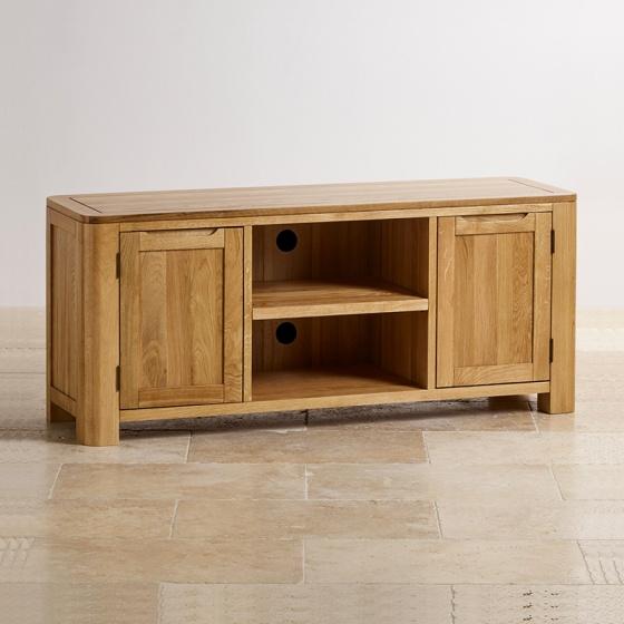Tủ TV Romsey 2 cánh gỗ sồi - IBIE