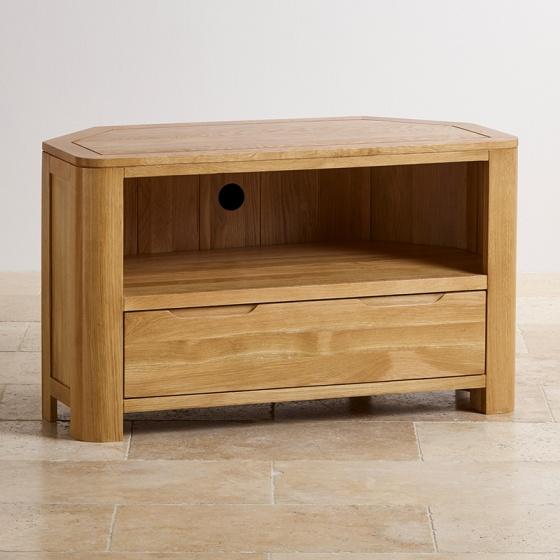 Tủ TV góc Romsey gỗ sồi - IBIE