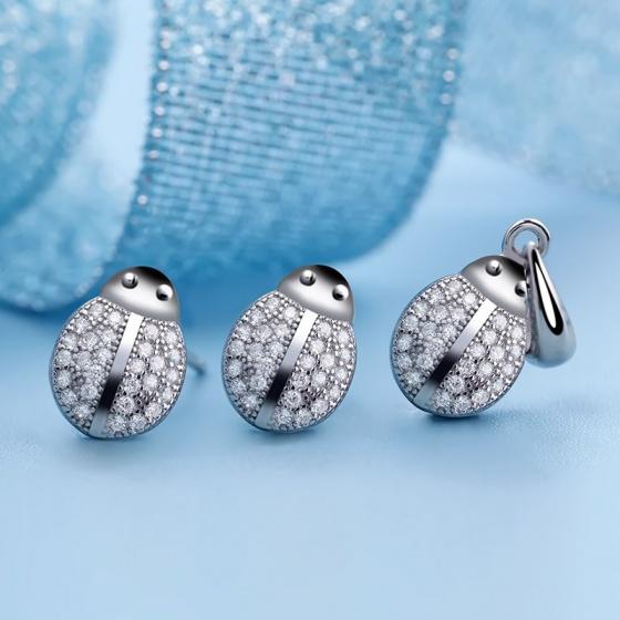 Bộ trang sức bạc Ladybug