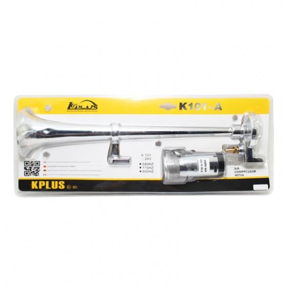 Kèn hơi 1 loa KPLUS K101-A 12v có rờ le có mô tơ