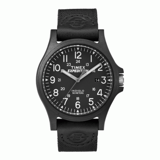 Đồng hồ nam Timex Expedition Metal Field 40mm - TW4B08100