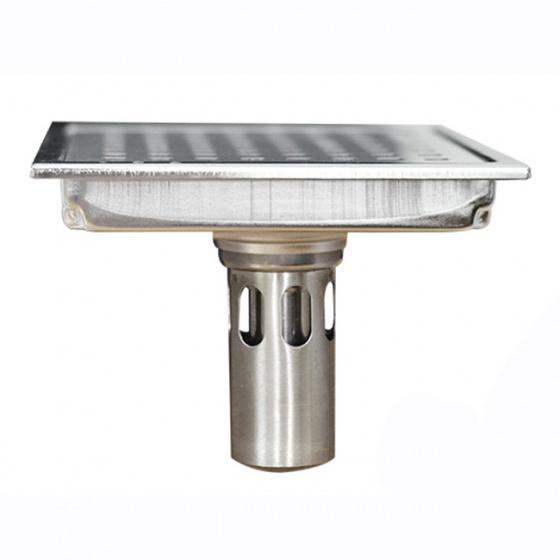 Phễu thoát sàn chống mùi hôi inox Zento ZT 654(150x150)