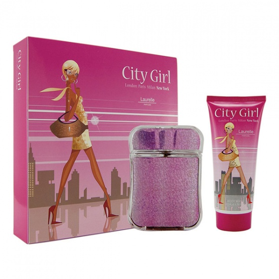 Bộ nước hoa nữ City Girl New York  2pc Gift Set