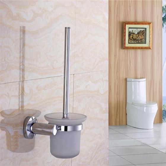 Bộ chổi cọ & kệ đỡ toilet inox HA4644
