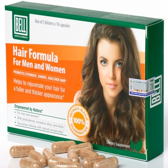 Viên uống ngăn ngừa rụng tóc Hair Formula For Men & Women (Hộp 30 viên)