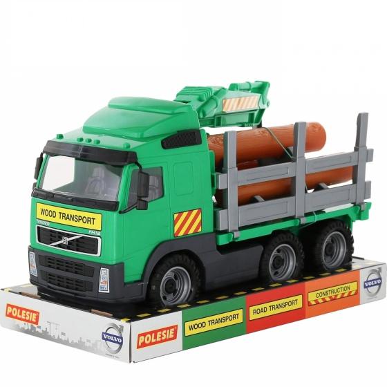 Xe tải Volvo chở gỗ đồ chơi Polesie