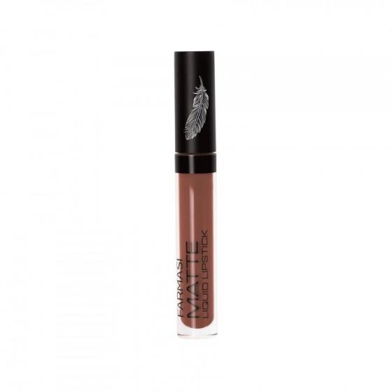 Son lì mềm mịn Velvet Matte liquid lipstick Farmasi 4ml - Chocolate Fame (1717VEL106)