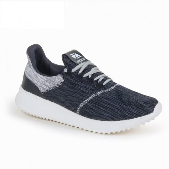 Giày nam, giày thể thao sneaker Zapas năng động cá tính siêu nhẹ thoáng khí - ZR009 (màu đen)