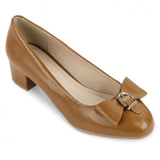 Giày bít tròn thời trang 5050BT0008 Sablanca (nâu)