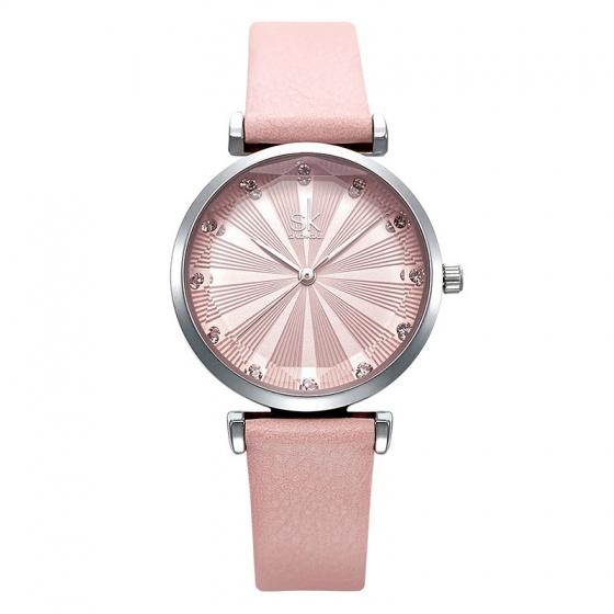 Đồng hồ nữ chính hãng Shengke UK K0099L-01 hồng