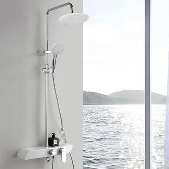 Bộ sen cây nóng lạnh Luxury Shower ZT8021-White