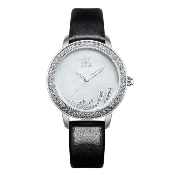 Đồng hồ nữ chính hãng Shengke UK K0085L-01 Đen