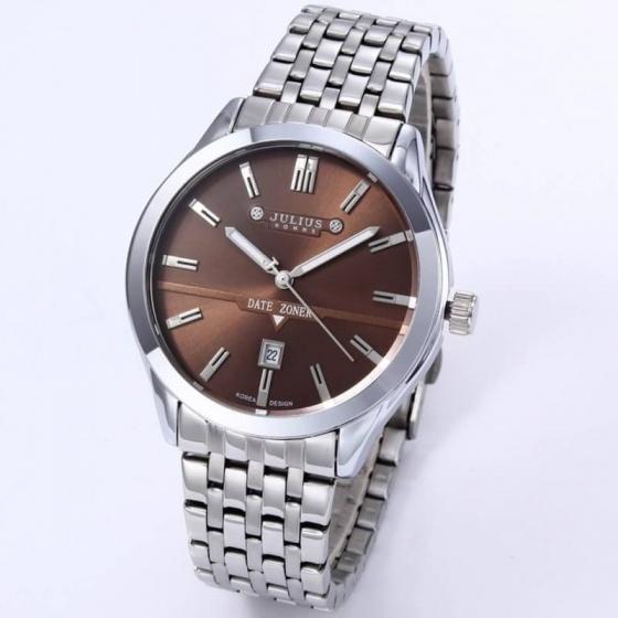 Đồng hồ nam julius JAH-086B ( nâu)