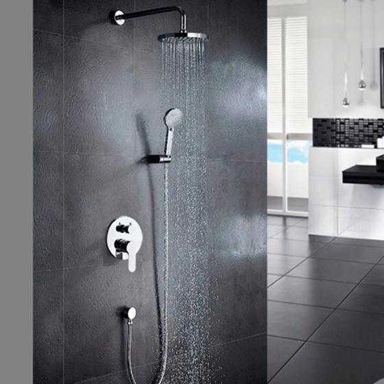 Bộ sen tắm nóng lạnh âm tường Zento ZT8667