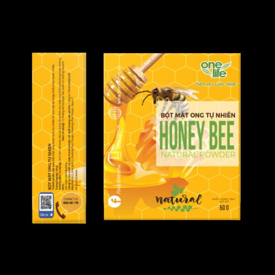 Bột mật ong tự nhiên từ hoa hạt dẻ Hàn Quốc Onelife (Nhập khẩu 100% từ Hàn Quốc) - hộp 50gr