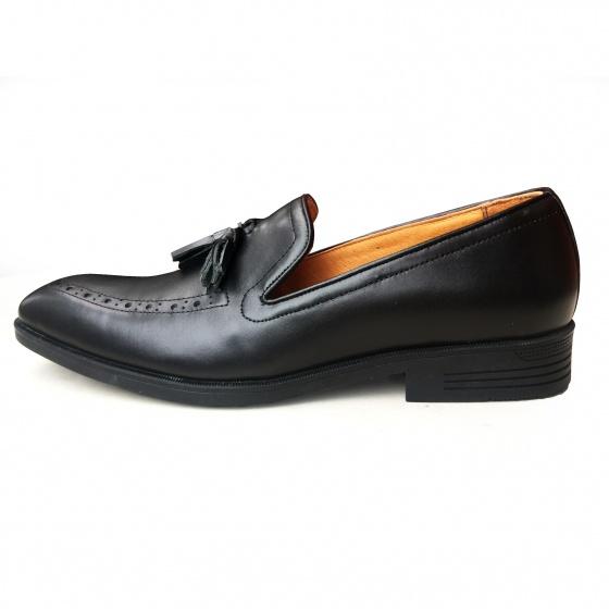 Giày da nam dáng ITALY da bò thật chính hãng GCS34 Geleli